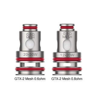 Vaporesso Vaporesso GTX-2 Mesh 5 Pack Replacement Coils 0.60 ohm