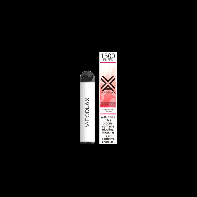 VAPORLAX G1500 6.5 ml 2.5% Nicotine with Airflow Adjustment