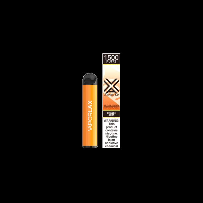 VAPORLAX G1500 6.5 ml 5% Nicotine