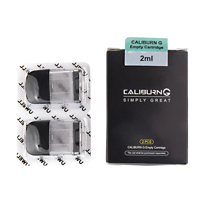 Uwell Caliburn G 2 ml without coils 2 Pack Replacement Pods