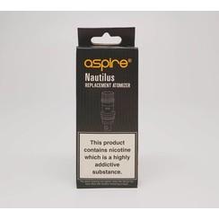 Aspire Vape Co Nautilus 5 Pack Replacement Coils