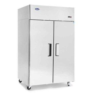 Atosa USA Atosa USA MBF8005GR Top Mount (2) Door Refrigerator   Dimensions: 51.7 W * 33.3 D * 82.9 H