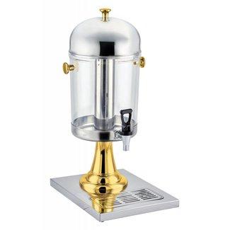 Winco Winco 901 Single Juice Dispenser, 2.2Gal (8.3L), Gold-Tone Accent