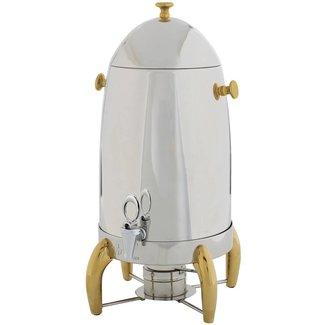 Winco Winco 905A Virtuoso Coffee Urn, 5gal, Gold Accent