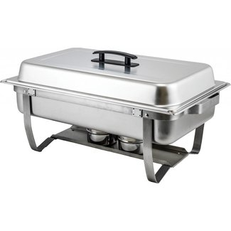 Winco Winco C-4080 8 Qt Full-size Folding Stand Chafer, S/S