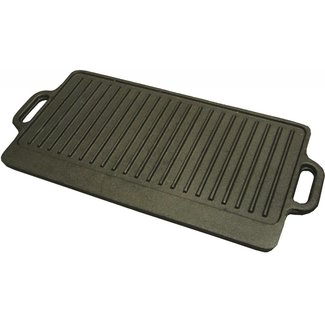Winco Winco IGD-2095 Reversible Griddle/Grill, Cast Iron, 20'' x 9.5''