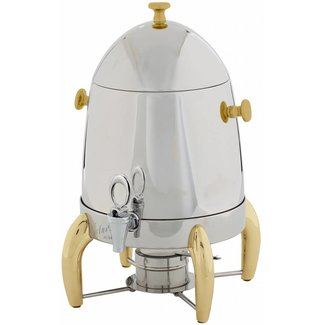 Winco Winco 903A Virtuoso Coffee Urn, 3gal, Gold Accent