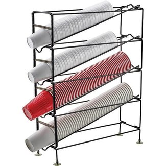 Winco Winco CDR-4 4-Tier Cup Dispensing Rack