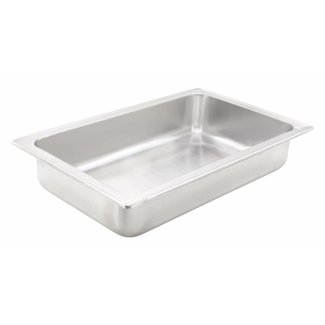 Winco Winco C-WPF Water Pan, Full-size, 4'', Dripless, S/S