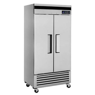 Turbo Air Super Deluxe Refrigerator, reach in, two section, 29.0 cu.ft Turbo air TSR-35SD-N