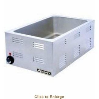 Admiral Craft Adcraft FW-1200W Countertop Food Pan Warmer 1200w