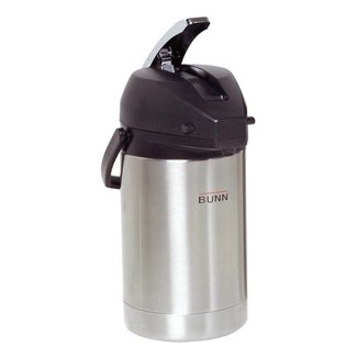 Bunn 32125.0000  Airpot, 2.5 liter (84 oz.), lever-action, stainless steel liner, ETL