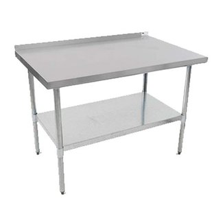 "John Boos John Boos - UFBLG6030-X - Table, 30""x60""x35""H W/Splash, 430 S/S"