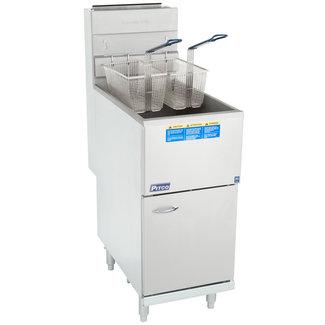Pitco Anets Pitco Fryer 42-50 lb. 122,000 BTU, NSF 45C+S (LP)
