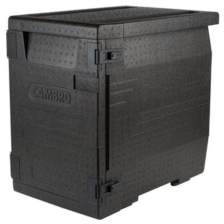 Cambro Cam GoBox® Insulated Food Pan Carrier, 90.9 qt., front load, EPP400110