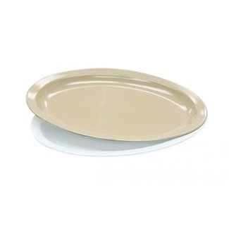 "Admiral Craft Plastic Platter - Platter, oval, 13-1/4"" x 9-1/2"" MEL-OP14T"