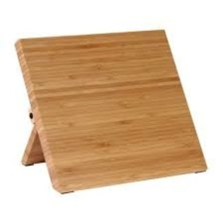 "Mercer Culinary Magnetic Board, 9-1/2""W x 3/4""D"" x 8-5/8""H, bamboo"