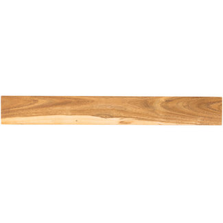"Mercer Culinary Magnetic Bar, 18"", 18""W x 2-3/8""D"" x 3/4""H, acacia"