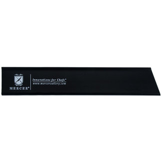"""Mercer Culinary Mercer Cutlery M33115P Knife Guard, 8"""" x 1-1/2"""", (for 7""""-8"""" bread/carving/fillet/utility knives), polypropylene, black"""