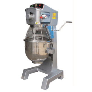 Atosa USA Atosa USA PPM-30 32 quart Planetary Mixer, gear driven w/timer, s/s bowl and safety guard. Includes wire whip, dough hook and flat beater.
