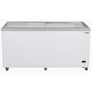 Legacy Companies Legacy Companies MXF52F Mobile Ice Cream Freezer, flat sliding glass lid