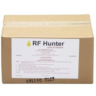 RF Hunter Filter Powder Packets, 3.2 oz. packets (100/case)  FP22C