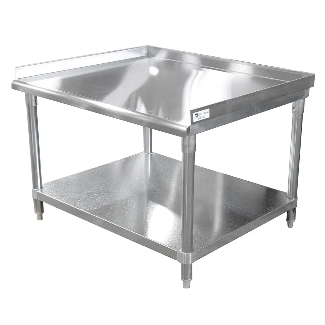 John Boos EQUIP STAND 36X30 W/1-1/2 TURN-UP EES8-3036