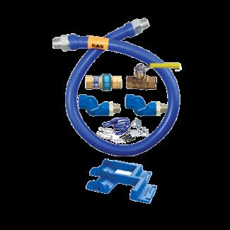 """Dormont Gas Connector Hose Kit 48"""" - 1675KIT2S48PS"""