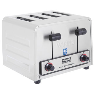 Waring Commercial Waring WCT805 4-Slice Heavy-Duty Commercial Toaster, 240V