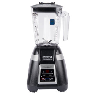 "Waring Commercial Waring BB340 ""BLADE"" 1HP Bar Blender 2-Speed/PULSE w/ Keypad and 30-Second Timer and 48 oz. Container"