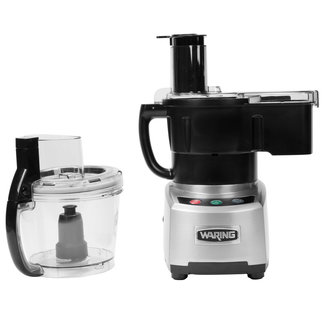 Waring Commercial Waring WFP16SCD 4-Qt. Combination Bowl Cutter Mixer and Continuous-Feed with Dicing and LiquiLock® Seal System
