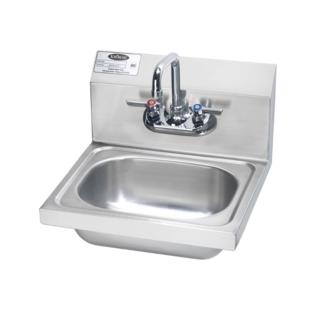 """Krowne Metal HS-2L - 16"""" Wide Hand Sink, Low Lead Compliant"""