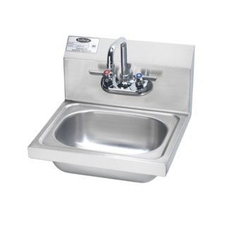 """Krowne Metal Krowne HS-2L 16"""" Wide Hand Sink"""