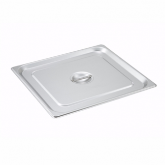 Winco S/S Steam Pan Cover, 2/3 Size, Solid SPSCTT