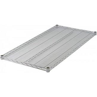 "Winco VC-2454 Wire Shelf, Chrome Plated, 24"" x 54"""