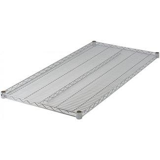 "Winco VC-2442 Wire Shelf, Chrome Plated, 24"" x 42"""