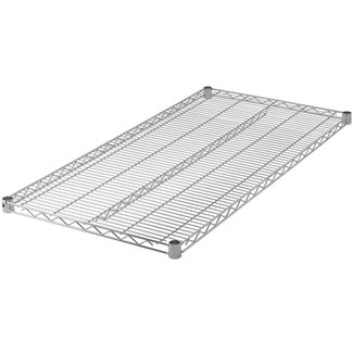 "Winco VC-2436 Wire Shelf, Chrome Plated, 24"" x 36"""