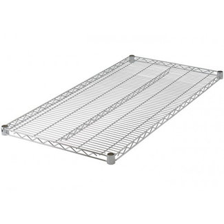 "Winco VC-2430 Wire Shelf, Chrome Plated, 24"" x 30"""