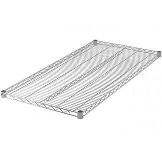"Winco VC-2430 Wire Shelf, Chrome Plated, 24"" x 30"""