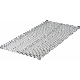 "Winco VC-2148 Wire Shelf, Chrome Plated, 21"" x 48"""