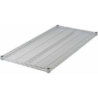 "Winco VC-2130 Wire Shelf, Chrome Plated, 21"" x 30"""