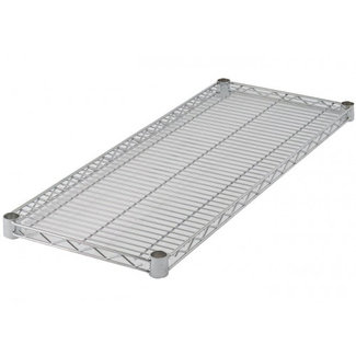 Winco Winco VC-1872 Wire Shelf, Chrome Plated, 18'' x 72''