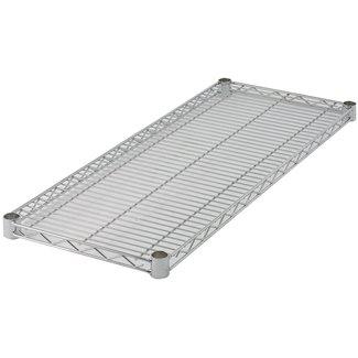Winco Winco VC-1824 Wire Shelf, Chrome Plated, 18'' x 24''