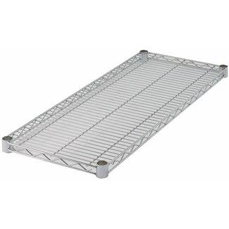 Winco Winco VC-1436 Wire Shelf, Chrome Plated, 14'' x 36''