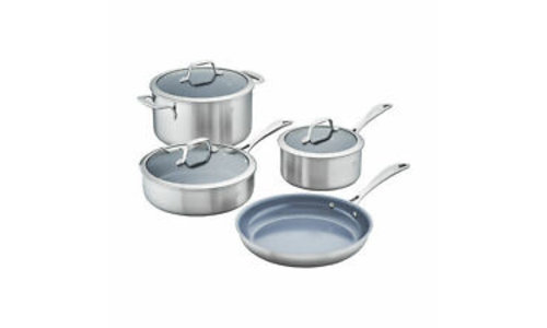 APOLLO 7-PLY STAINLESS STEEL COOKWARE
