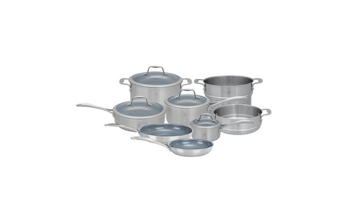 SPIRIT 3-PLY STAINLESS STEEL COOKWARE