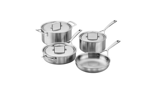 AURORA 5-PLY STAINLESS STEEL COOKWARE