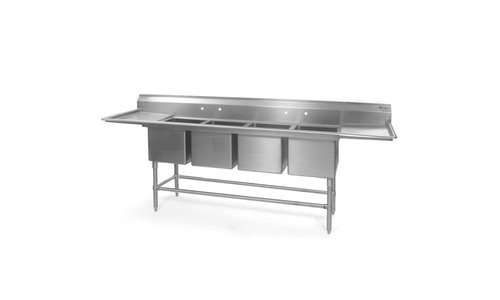 4 Compartment Sinks