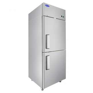 Atosa USA Atosa USA MBF8010GR Top Mount (2)  Divided Door Refrigerator Right Hinged Dimensions: 28.7 W * 33.3 D * 82.9 H