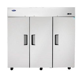 Atosa USA Atosa USA MBF8006GR Top Mount (3) Door Refrigerator Dimensions: 77.8 W * 33.3 D * 82.9 H